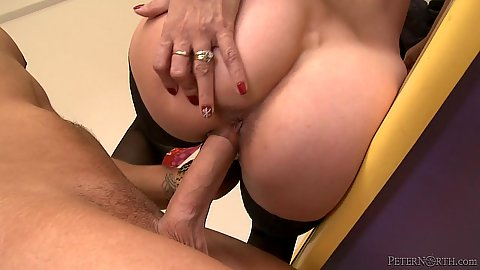 Hard loving milf Payton Leigh in stockings fuck