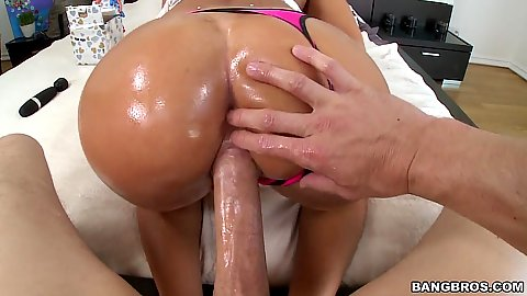Hardcore pov doggy style and great sex from pawg August Ames