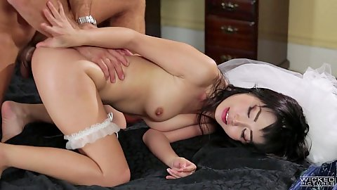 Erotic asian rear entry sex from lusty Marica Hase