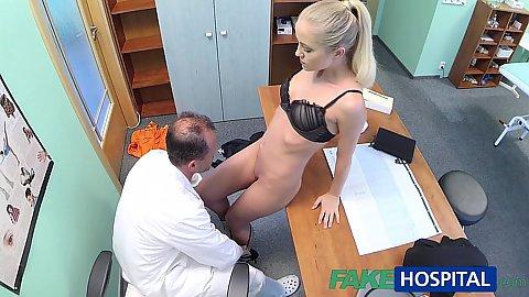 Doctor Blonde - blonde doctor fingering - top rated - Gosexpod - free tube ...