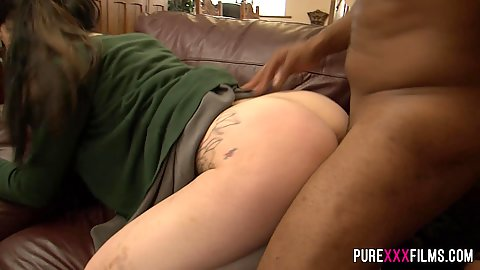 Interracial stepsister fuck with private school girl Alessa Savage