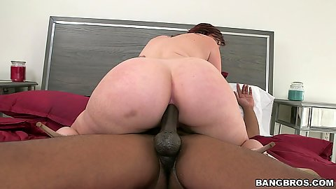 Bubble butt anal cowgirl with white whore Virgo Peridot and big black shaft