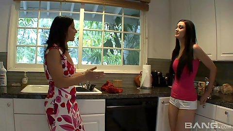 Sensual mom and me in teen and milf loving Kendall Karson and Melissa Monet