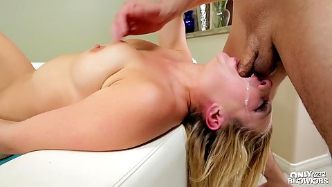 Reverse deep throat with saliva leaking stepsister Tiffany Watson