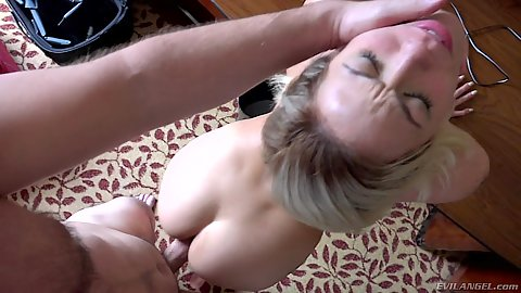 Rough sex doggy pounding with Harlow Harrison getting nailed in pov