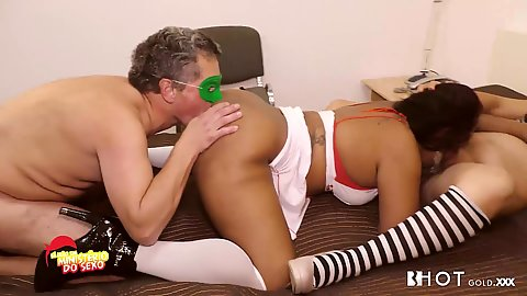 Joaquim Luís gets his female ass licking fantasy accomplished