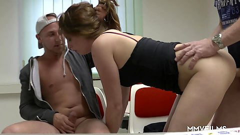Detention punishment with bursty redhead Marie Skyler