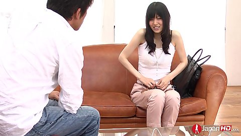 Shy casting and finally undressing young asian Nozomi Koizumi