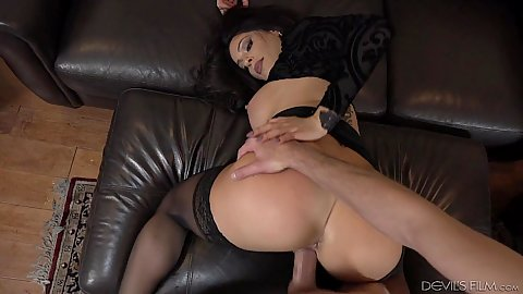 Doggy style pov sex with squirting housewife Nikki Capone