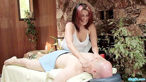 Massage and dick blowing with extra special Arizona