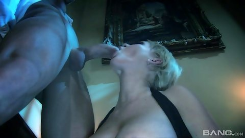 Oral from milf and some sex from behind with some candles