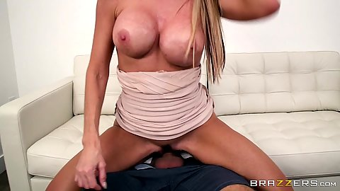 Big chested wifes sister Tylo Duran rides my penis