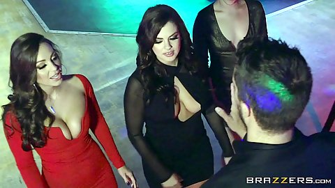 Abigail Mac and Keisha Grey love their dj and want to party