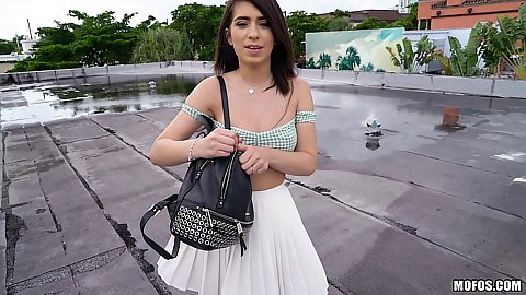 Rooftop pick up with public girl Joseline Kelly looking for acsh