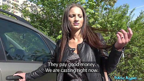 Public pick up for a ride with Nicoletta Noirett eager to show her stuff