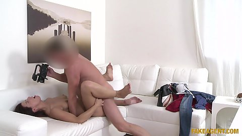 Milf gets nailed with spread legs and filmed Jessica Red