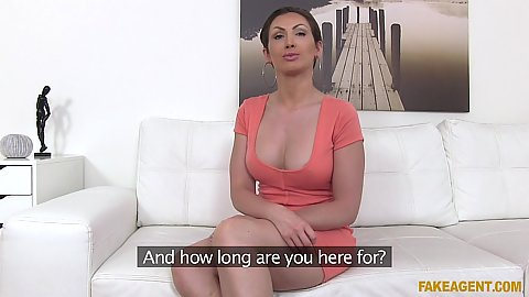 Interview with fully dressed milf Yasmin Scott