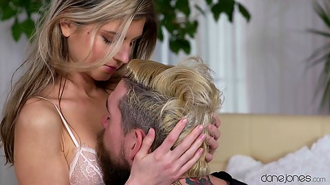 Great looking sensual Russian teen girl Gina Gerson in couple fucking