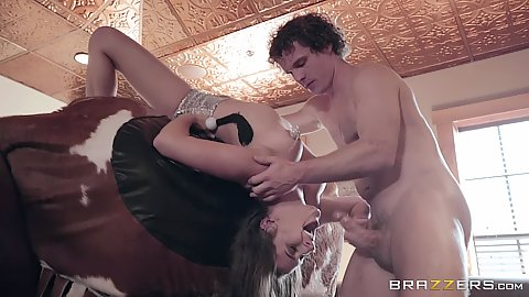 Reverse blowjob girl gets bucked Ashley Adams