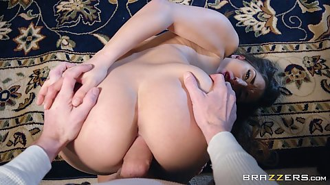 Anal and pussy sex from behind with graet butt Jimena Lago