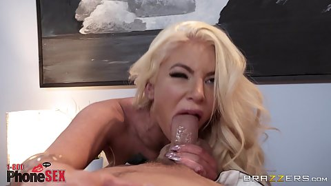 Nicolette Shea opening that mouth and throat wide for deep throat and pussy ramming