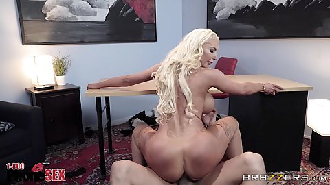Bubble butt cowgirl dick jumping on the carpet with titty fuck and cum all over face Nicolette Shea