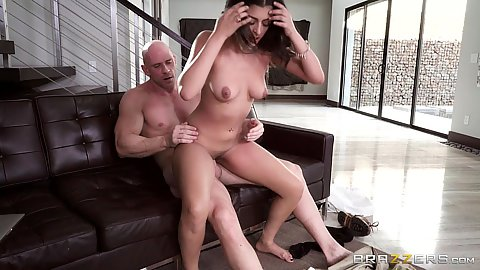 Cock grinding by paying her late rent Sophia Leone