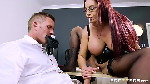Freelance fucking with office worker Emma Butt
