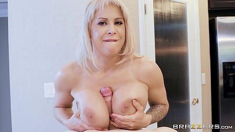 Titty fuck with milf stealing daughters husband Alyssa Lynn