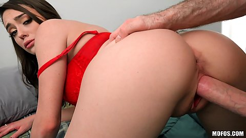 Rear pounding during afterparty sex Ashly Anderson