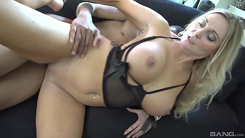 Black cock white amateur milf fucking Esther Heart and oral