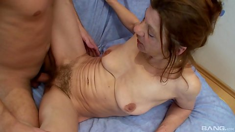Oldtimer granny fucked in her hairy beaver snatch 1 on 1