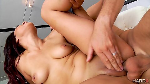 Maya Bijou has a wet pussy and dick slides in very well