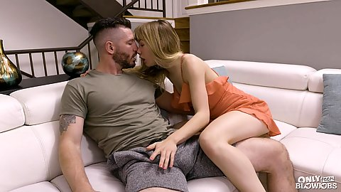 Kissing and making wout half dressed college girlfriend Ivy Wolf