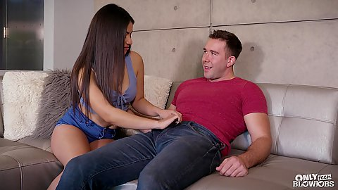 Dick blowing latina in shorts Rose Darling
