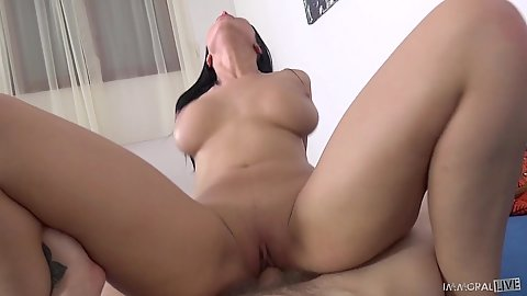 Naked big jugged Kira Queen sitting on shaf tin pov and fucked from the rear