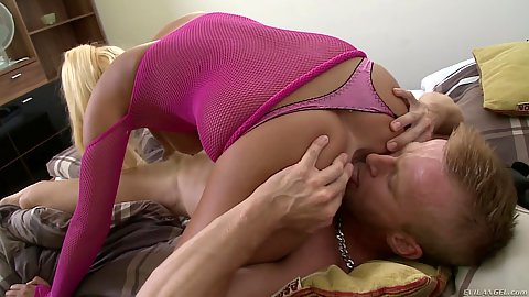 Gabriella Daniels doing 69 with guy in bed