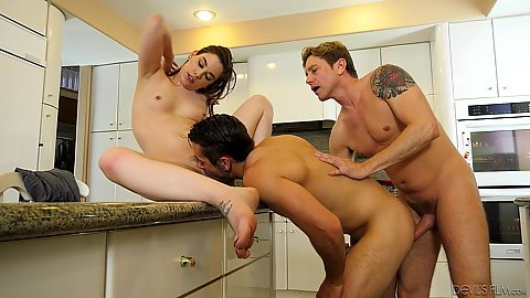 Threesome bisexual husband getting it up the ass while wife is licke dBobbi Dylan