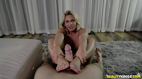 fett blonde blowjob