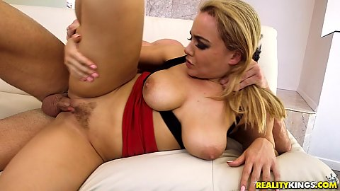 Trimmed cunt girl spooning position pussy screwing natural breasts Natasha Nice
