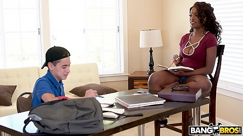Daya Knight is a tutor that gives private lessons at home but she has a thing for her students