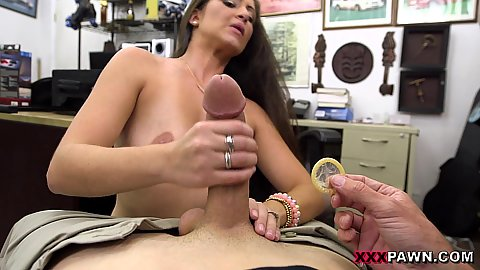 Office hours handjob and sex in pov with amateur milf feeling a little too kinky today and we are willing to help her out