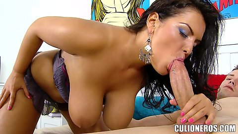 Sucking and titity fucking with the pair of those amazing natural juggs Jasmine Black is gooood