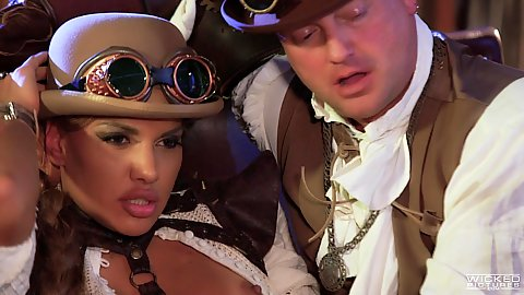 Orgy fucking super naughty babes with cosplay and oral Mercedes Carrera and Jessica Drake and Angela White