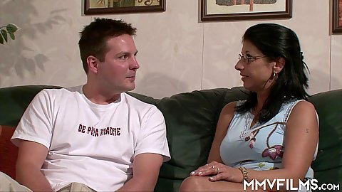 Stepmom is here to help this guy if he requires it mature woman fucks young german man 1 on 1