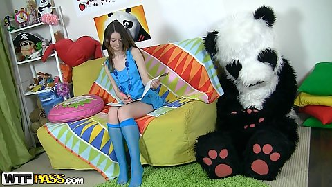 Feeling lonely on a very sad day with foxy 18 year old Nicki thinking about what to do today