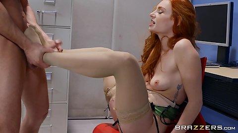 Sexy Kleine Füße Fußjob