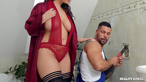 Brunette pawg big nipples por tubes Big Ass Oil Doggy Style Gosexpod Free Tube Porn Videos