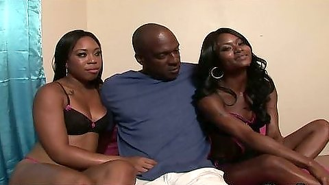 Myesha & Baby two hot blacks looking for lage cock