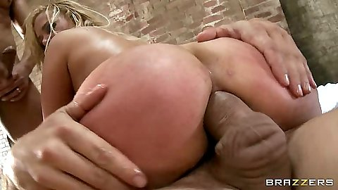 Big ass Shyla Stylez anal cowgirl double penetration and ass to mouth